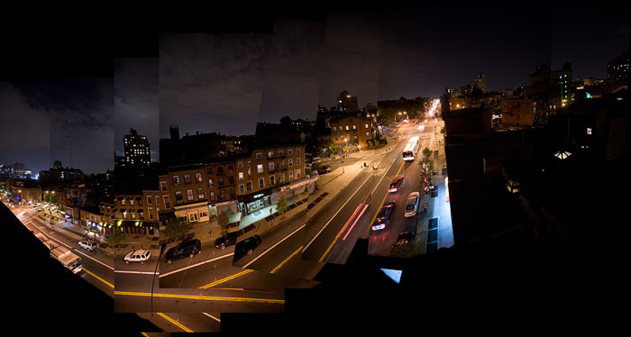 Fulton St. Panorama